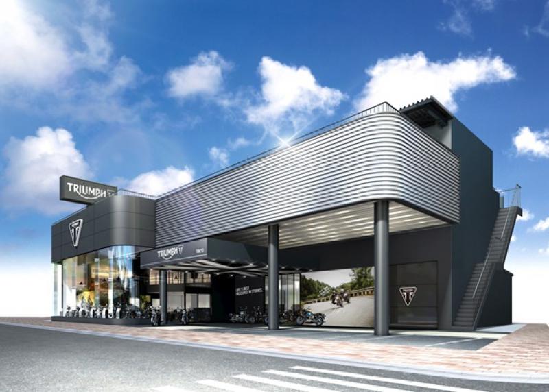 ★最新デザインの世界戦略フラッグシップストアー、トライアンフ東京が5月1日(月)にオープン!