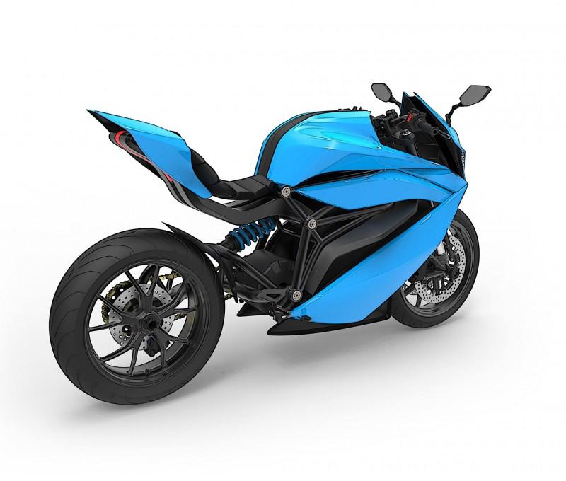 ★インド初の電動スポーツバイクEMFLUX MOTORS「Model 1」2018年モデルとして登場の予定