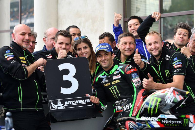 ★MotoGP2017フランスGP 予選3位ザルコ「1列目でスタート出来るなんて最高」