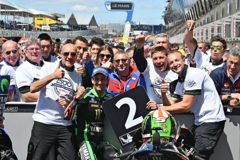 ★MotoGP2017フランスGP 2位ザルコ「このままプッシュしていきたい」