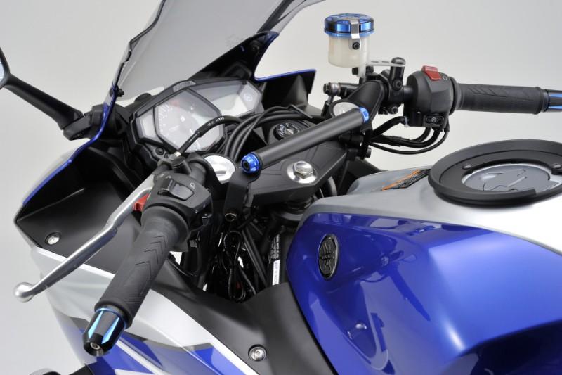 ★DAYTONA(デイトナ) YZF-R25/YZF-R3/Ninja250R セパハン用マルチバーホルダー