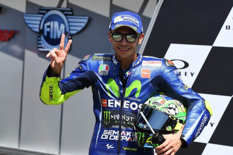 ★MotoGP2017イタリアGP 予選2位ロッシ「明日はタフなレースになる」