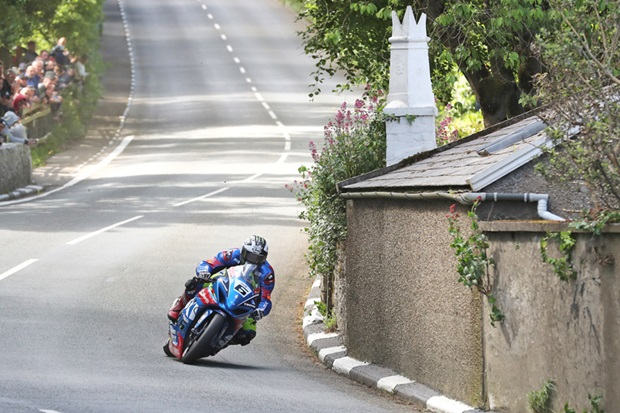 ★マン島TT2017 スーパーバイククラスでダンロップがトップタイムを記録