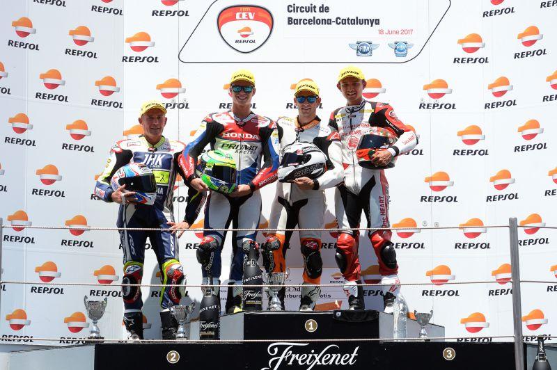 ★CEV Repsol 2017カタルーニャ戦 Moto2クラス レース1結果