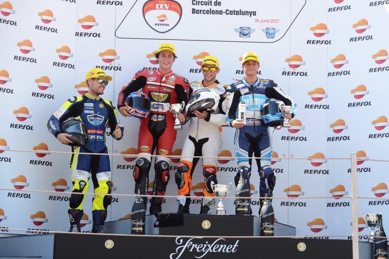 ★CEV Repsol 2017カタルーニャ戦 Moto2クラス レース2結果
