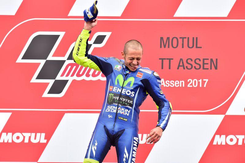 ★MotoGP2017オランダGP優勝 ロッシ「非常に重要な勝利だった」