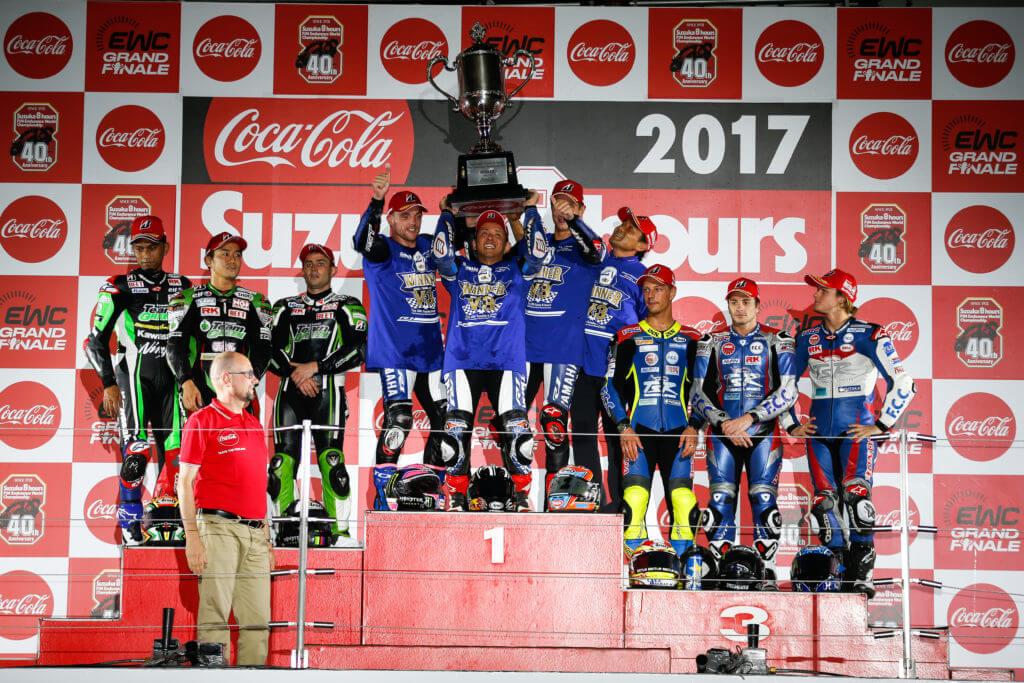 ★鈴鹿8耐2017 ヤマハ・ファクトリー・レーシング・チームが3連勝、GMT94ヤマハが世界耐久選手権においてチャンピオンシップ優勝