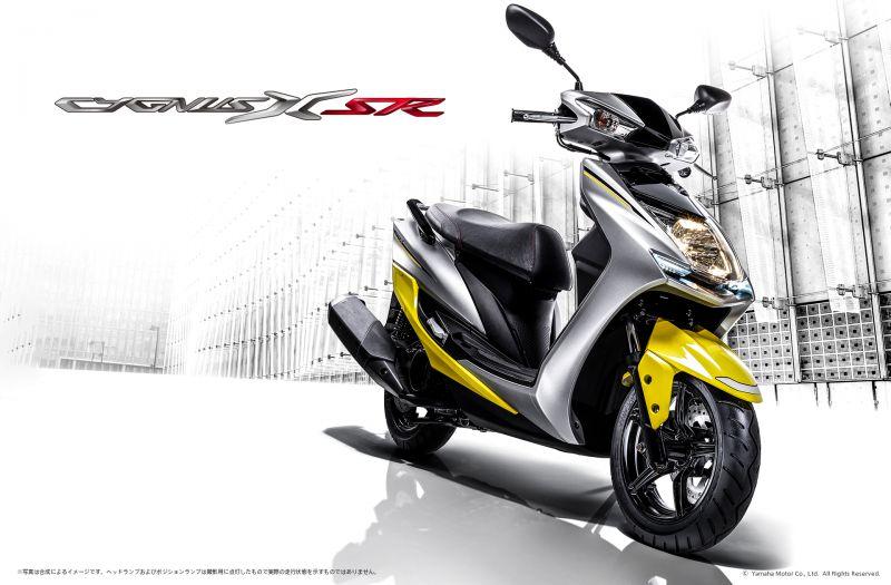 ★スポーティな走りとスタイルで人気の原付二種スクーター 「シグナスX XC125SR」の新色を発売 新排出ガス規制にも適合