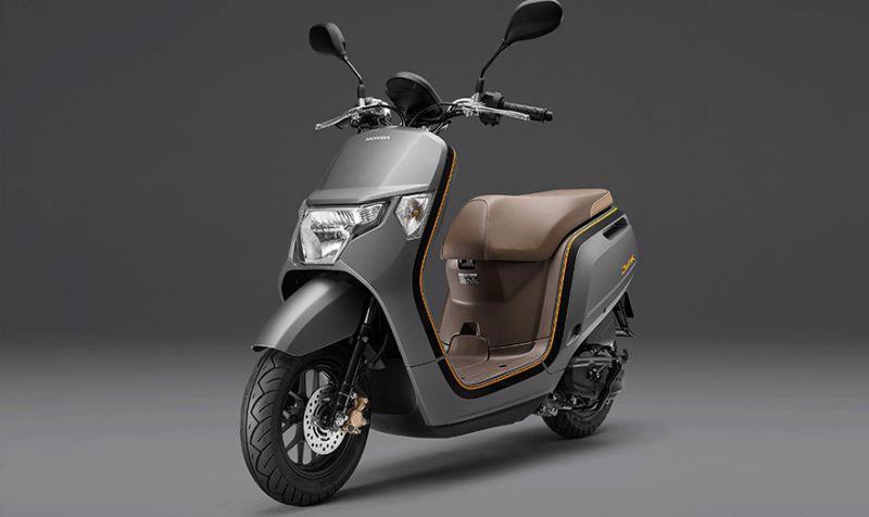 ★ホンダ 50ccスクーター「Dunk」のカラーバリエーションを変更し発売