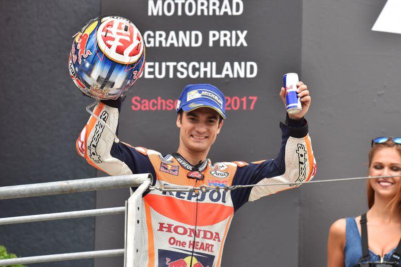 ★MotoGP2017ドイツGP 3位ペドロサ「リアグリップに苦戦した」