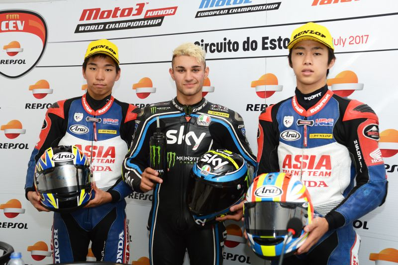 ★CEV Repsol 2017エストリル戦 Moto3クラス決勝結果