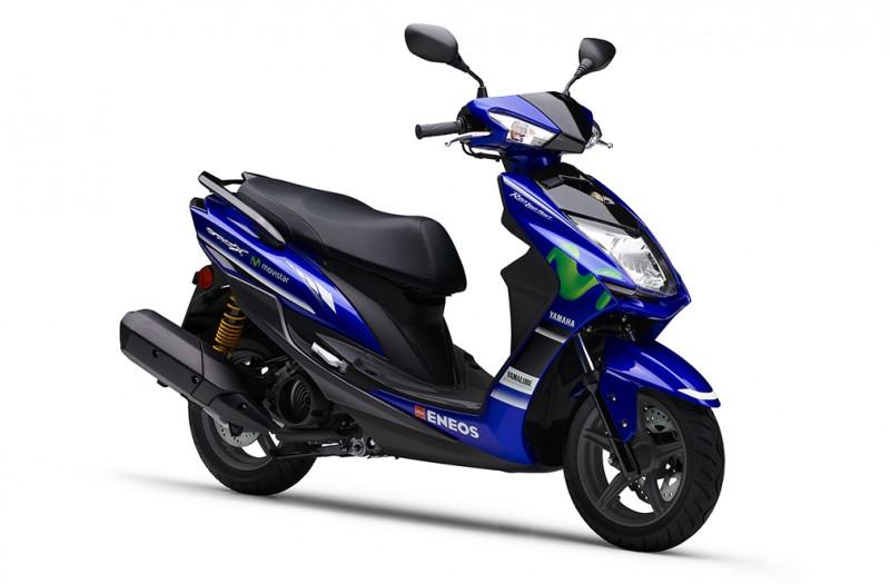 ★二輪最高峰レースMotoGPマシンのイメージを再現した原付二種スクーター「シグナスX XC125SR」 Movistar Yamaha MotoGP Editionを数量限定発売