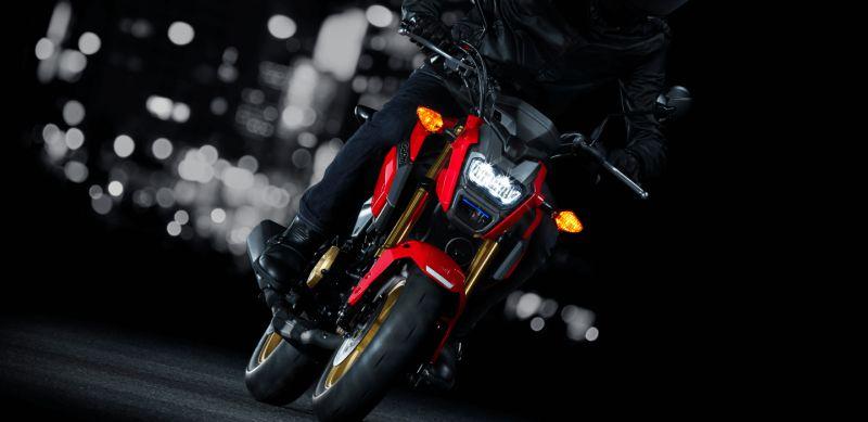 ★ホンダ 125ccスポーツモデル「グロム」のカラーリングを変更し発売