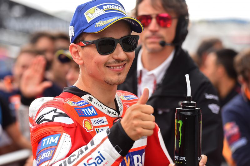 ★MotoGP2017オーストリアGP 予選3位ロレンソ「ブレーキングを改善して優勝を狙いたい」