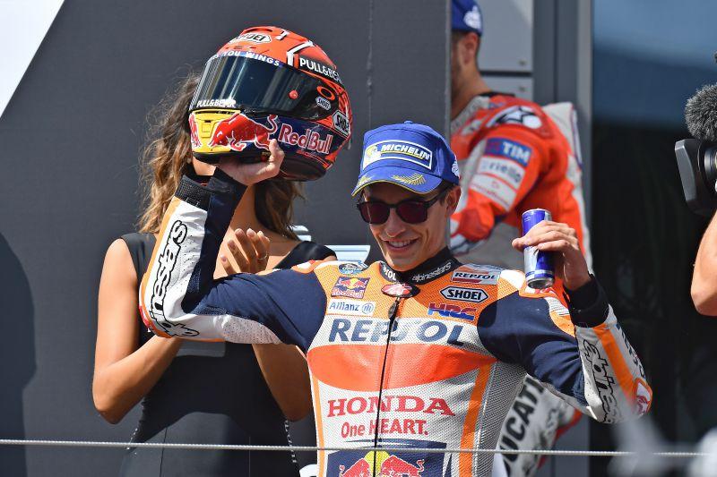 ★MotoGP2017オーストリアGP2位 マルケス「最終コーナーでチャンピオンシップは考えていなかった」
