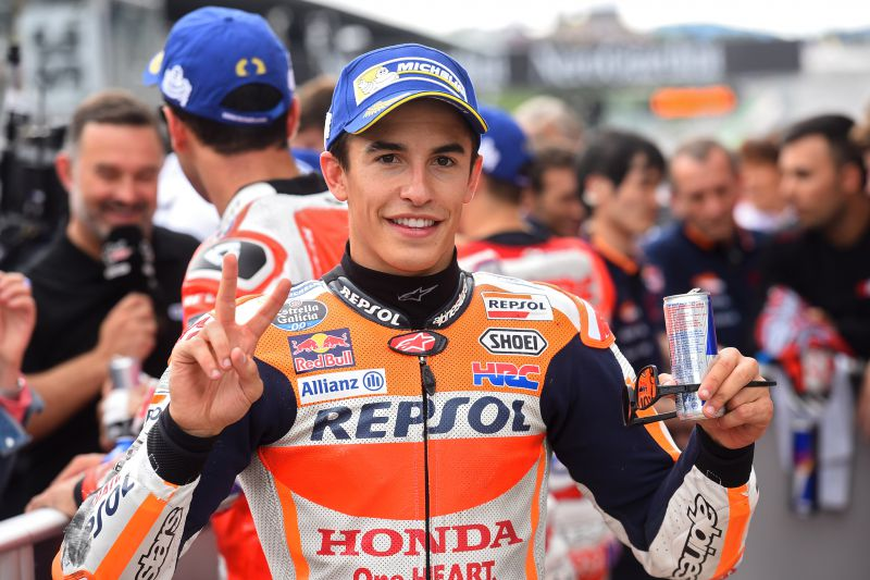 ★MotoGP2017オーストリアGP 予選1位マルケス「今日のようなフィーリングなら優勝争いが出来る」