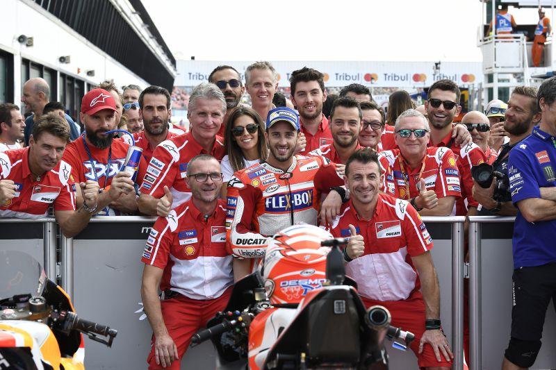 ★MotoGP2017サンマリノGP 予選2位ドヴィツィオーゾ「完璧な予選走行だった」