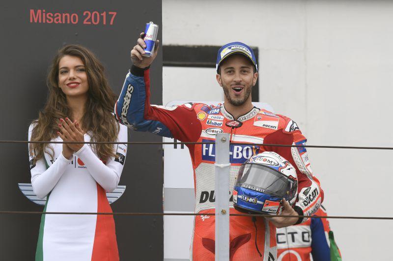 ★MotoGP2017サンマリノGP 3位ドヴィツィオーゾ「今日は16ポイント獲得を喜ぶべき」