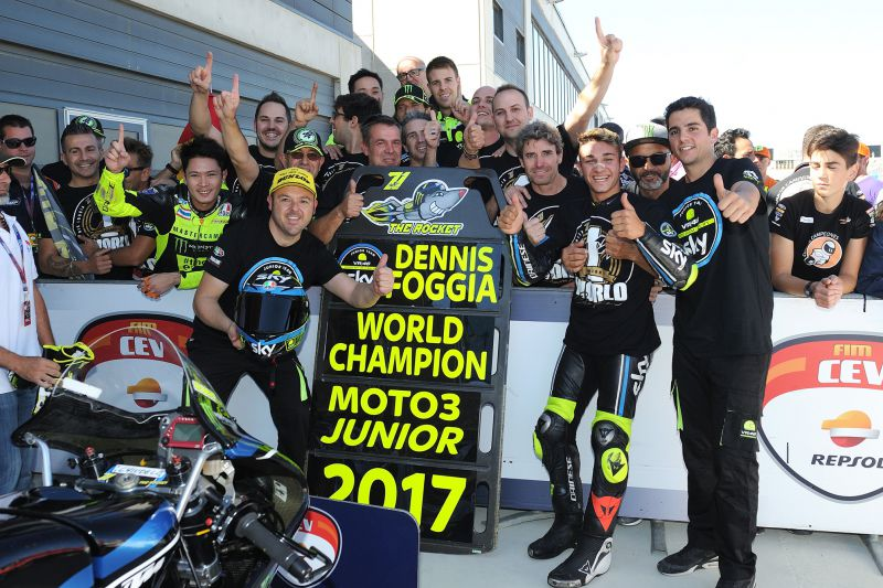 ★CEV Repsol 2017アラゴン戦 Moto3クラス決勝レース結果