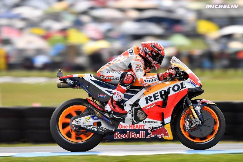 ★MotoGP2017オーストラリアGP マルケス「最も重要なのはドヴィの前でレースを終えること」
