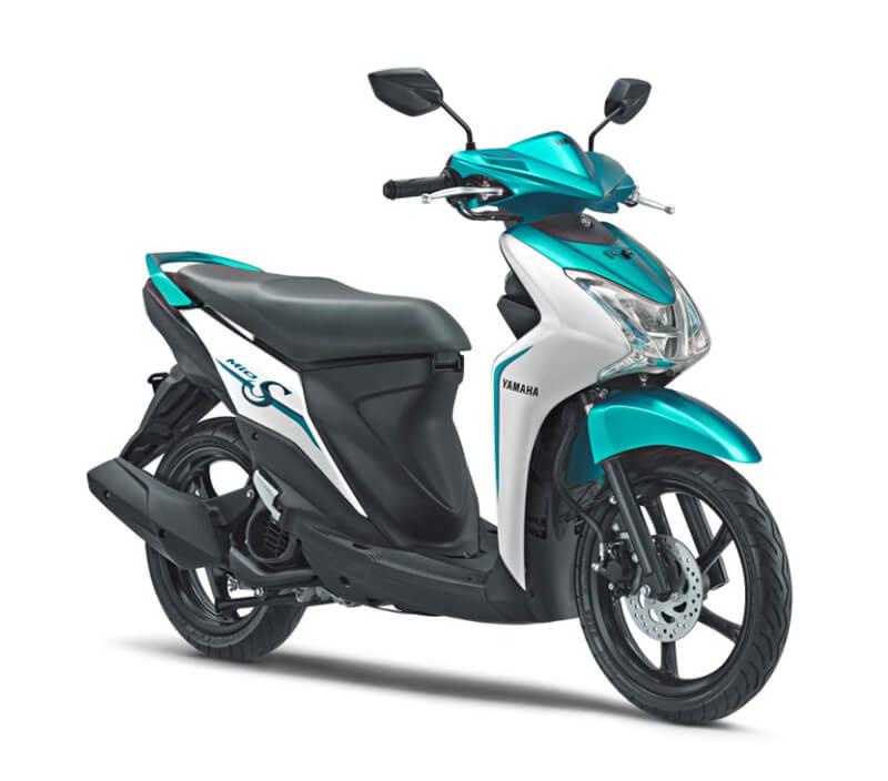 ★ヤマハ スリムで優美なスクーター「MIO S」 インドネシアで発売