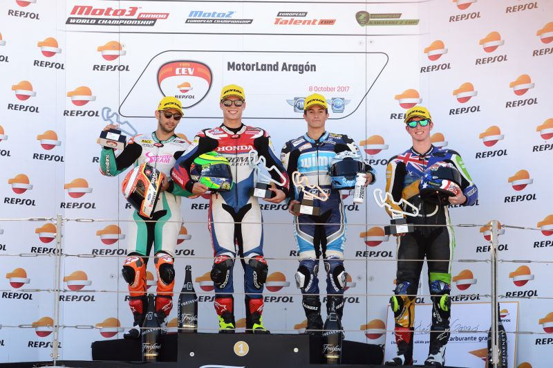 ★CEV Repsol 2017アラゴン戦 Moto2クラスレース2結果