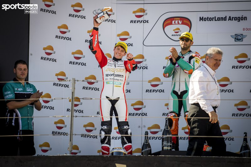 ★NTS FIM CEV Repsol Moto2 Round6 アラゴンサーキット : 決勝レポート