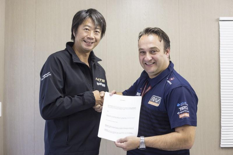 ★NTS 福島県拠点の 「NTS」 とオランダの 「RW レーシング」FIM 世界選手権グランプリ Moto2 共同参戦契約を締結!