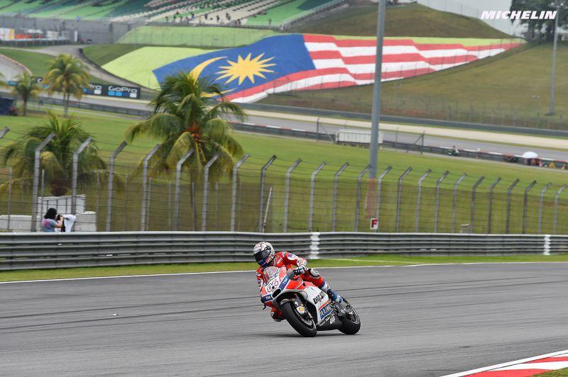 ★MotoGP2017マレーシアGP 予選3位ドヴィツィオーゾ「ドライコンディションの戦闘力は高い」