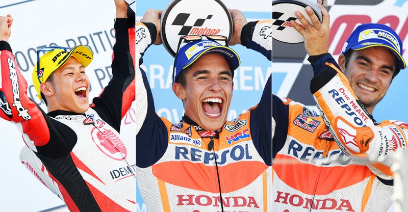 ★ホンダ 2017 FIM MotoGP™ 世界選手権シリーズ 第15戦「日本グランプリ ファンミーティング」