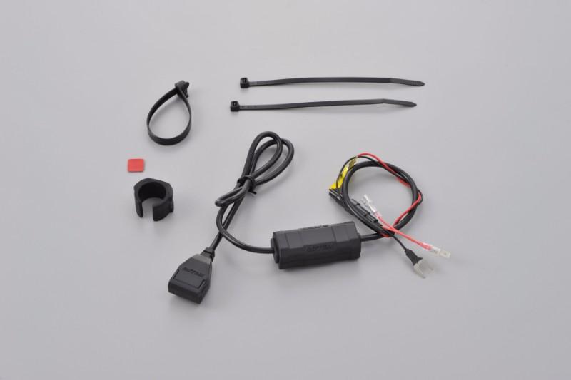★DAYTONA(デイトナ) バイク専用電源 USB1ポートACC2.1A 97040 ¥2,200【1月下旬発売】