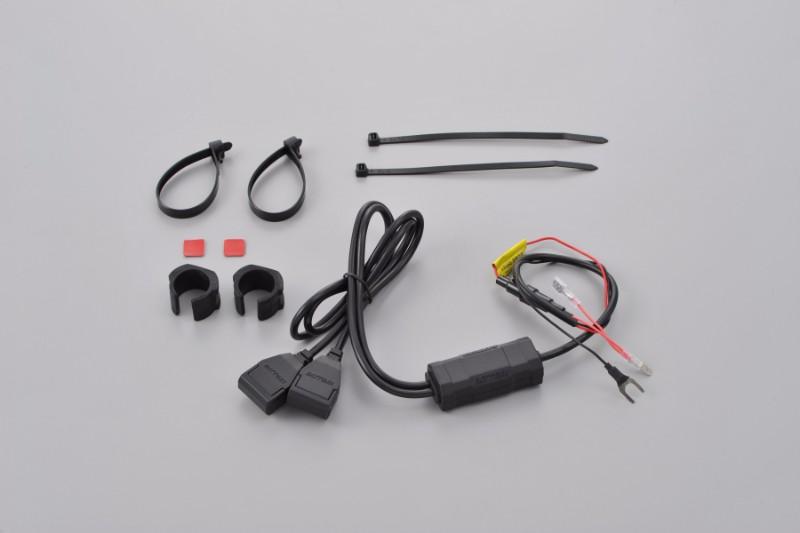 ★DAYTONA(デイトナ) バイク専用電源 USB2ポートACC2.1A 97041 ¥2,800【1月下旬発売】