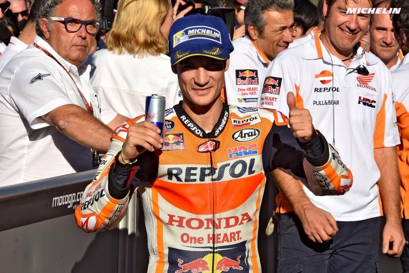 ★MotoGP2017バレンシアGP 優勝ペドロサ「最終戦にスペインのファンの前で優勝出来たのは本当に嬉しい」