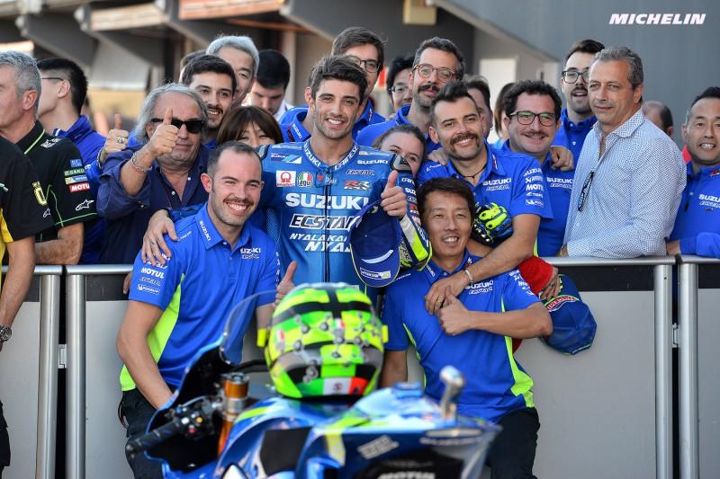 ★MotoGP2017バレンシアGP 予選3位イアンノーネ「結果がついてきていて、来年に向けて良い状況」