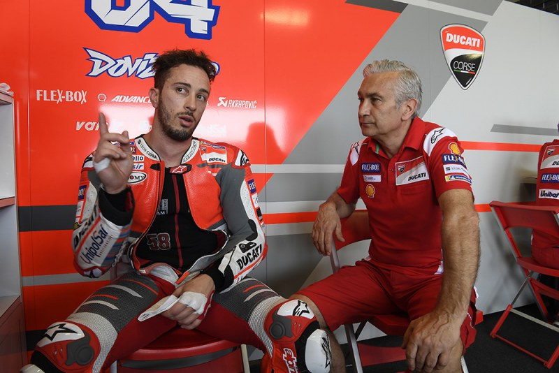 ★MotoGP2018 タイテスト初日 4位ドヴィツィオーゾ「Ducatiにとっては低速なトラック」