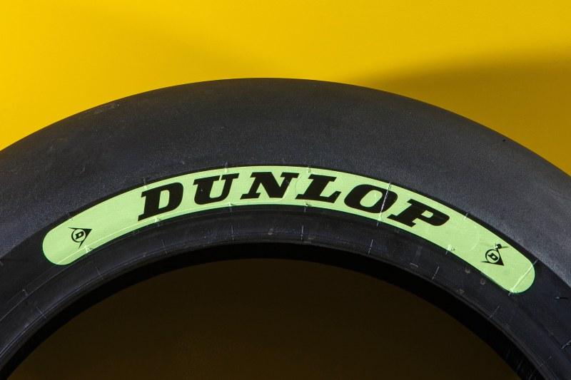 ★Moto2 ダンロップ(Dunlop) 2018年からタイヤのカラー識別を簡素化