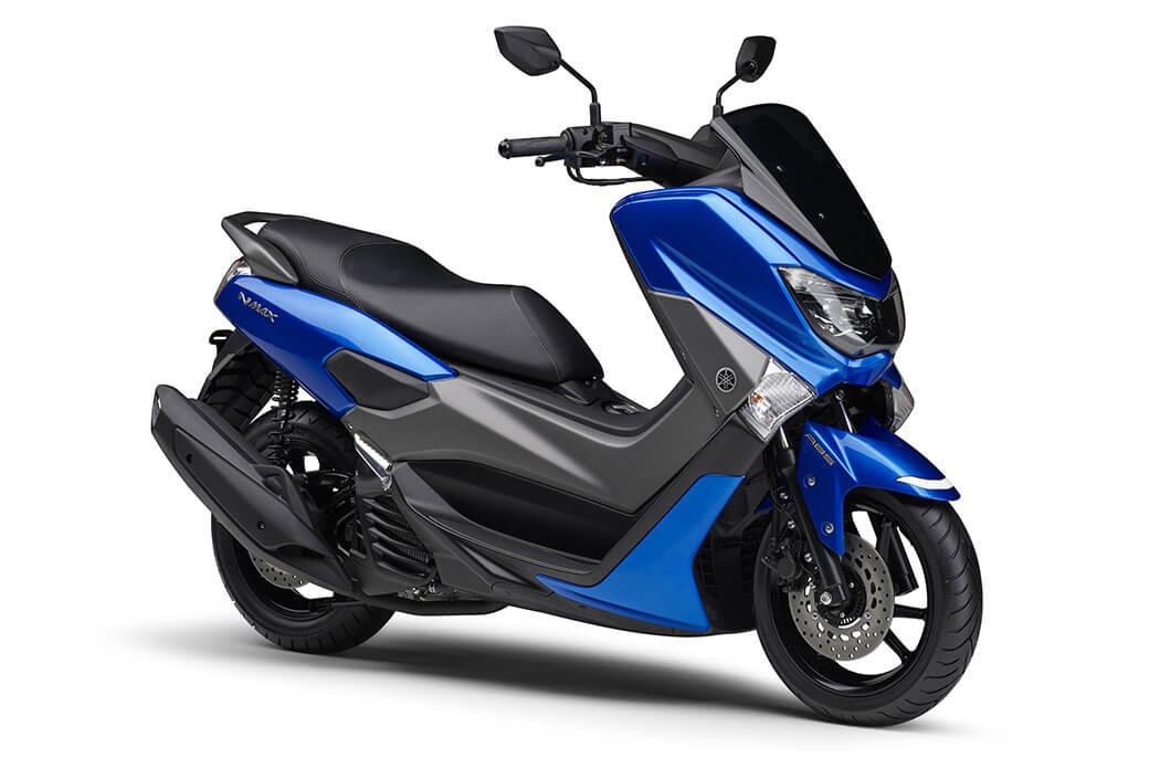 ★ヤマハ 光沢感のあるブルーの採用など 高級感をさらに強調 原付二種スクーター「NMAX ABS」のカラーリングを変更