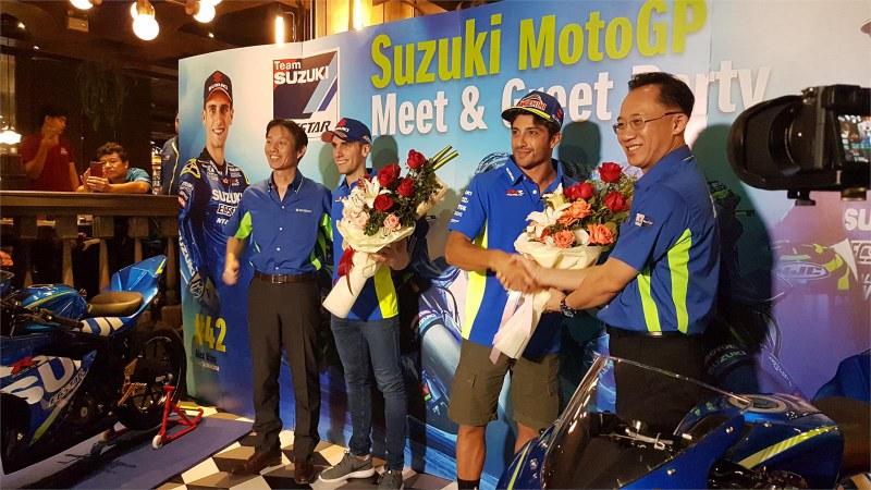 ★MotoGP2018 イアンノーネ、リンス タイの首都バンコクで熱烈な歓迎を受ける