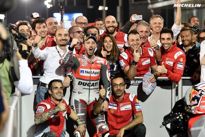 ★MotoGP2018 Ducati アンドレア・ドヴィツィオーゾと2020年まで契約を更新