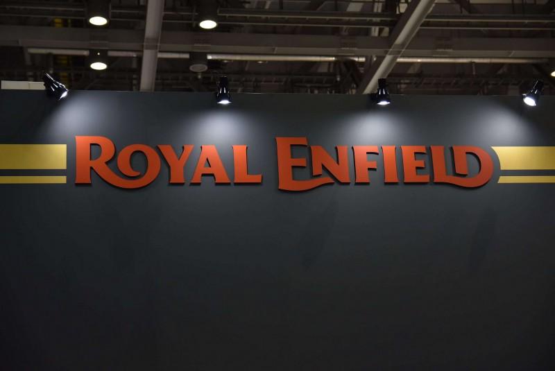 ★第45回東京モーターサイクルショー Royal Enfieldブース