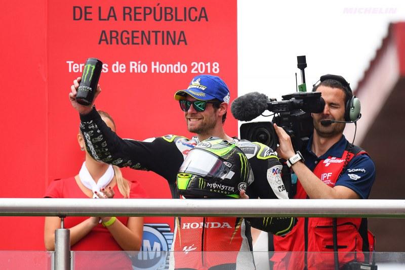 ★MotoGP2018アルゼンチンGP クラッチロー「エンジンが強力になったことでコーナーでのリスクが減った」