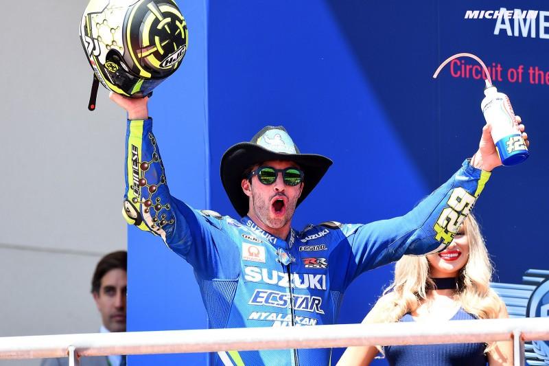 ★MotoGP2018アメリカGP 3位イアンノーネ「この表彰台は、けして諦めなかった結果」