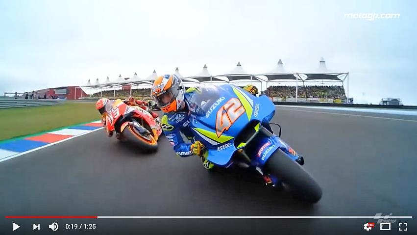 ★MotoGP2018スズキ アルゼンチンGPのレース映像を公開
