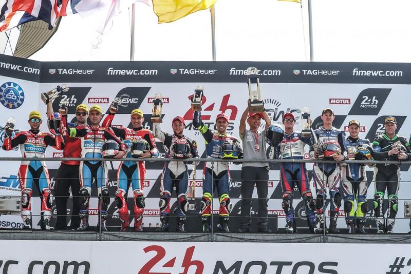 ★2017-2018EWCル・マン24時間耐久 F.C.C. TSR Honda Franceが優勝、チャンピオンシップにおいてもトップへと浮上