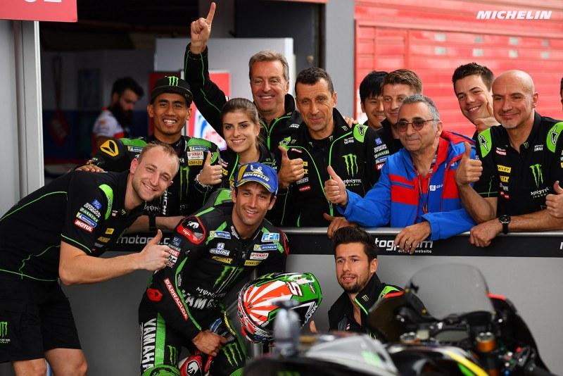 ★MotoGP2018アルゼンチンGP 予選3位ザルコ「良い形でレースをスタート出来る」