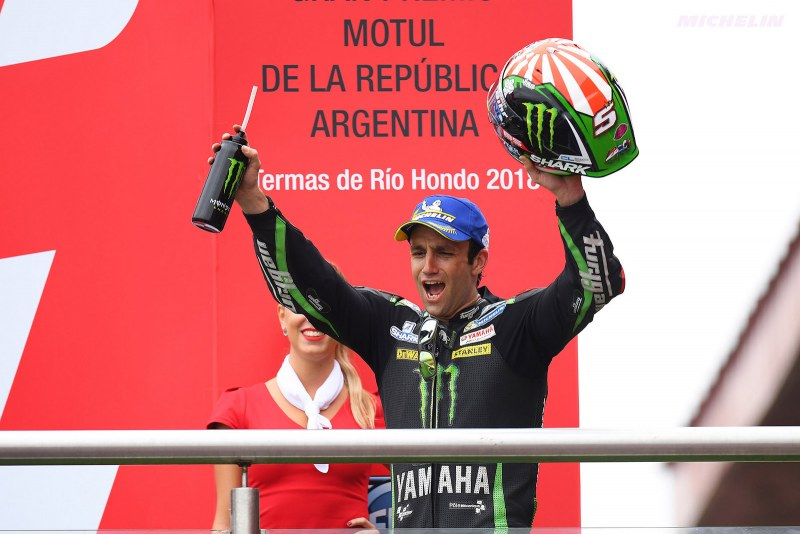 ★MotoGP2018アルゼンチンGP 2位ヨハン・ザルコ「優勝はいつか必ず出来る」
