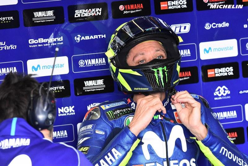 ★MotoGP2018ヘレスGP ロッシ「数周でタイヤのグリップが落ちてしまう」
