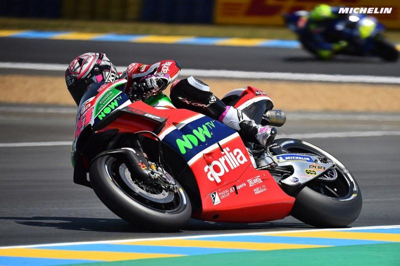 ★MotoGP2018フランスGP 9位アレイシ・エスパルガロ「フロントにチャタリングが発生した」