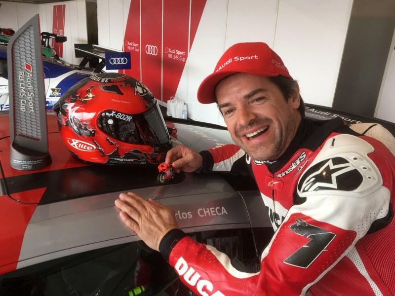 ★カルロス・チェカ Audi Sport R8 LMS カップで2位表彰台を2度獲得