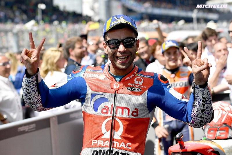 ★MotoGP2018フランスGP ペトルッチ「MotoGPの中での3mmの違いというのは本当に大きい」